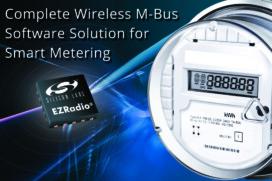 Silicon Labs M-Bus Software для беспроводнных счетчиков электроэнергии, воды, газа и тепла